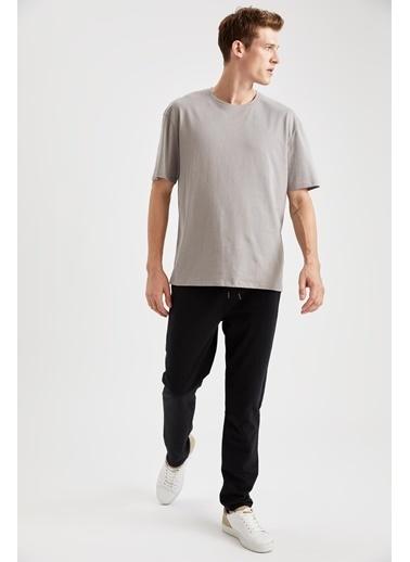 DeFacto Slim Fit Eşofman Altı Siyah